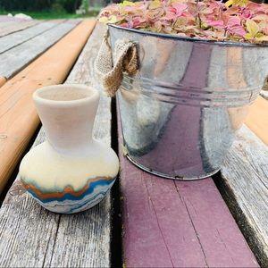 Nemadji Small vintage native American pottery vase